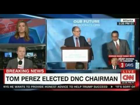Breaking News: Tom Perez elected DNC Chairman