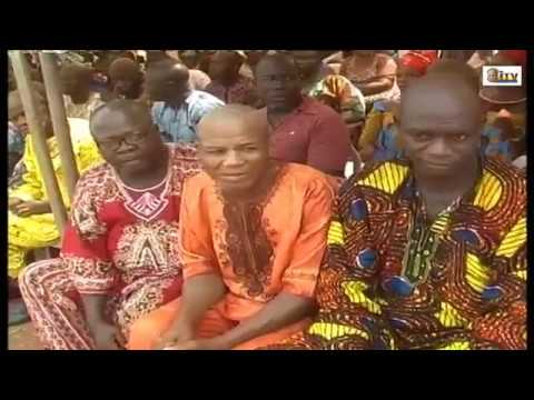 OBA OF BENIN VISIT TO COMMUNITIES PART FOUR