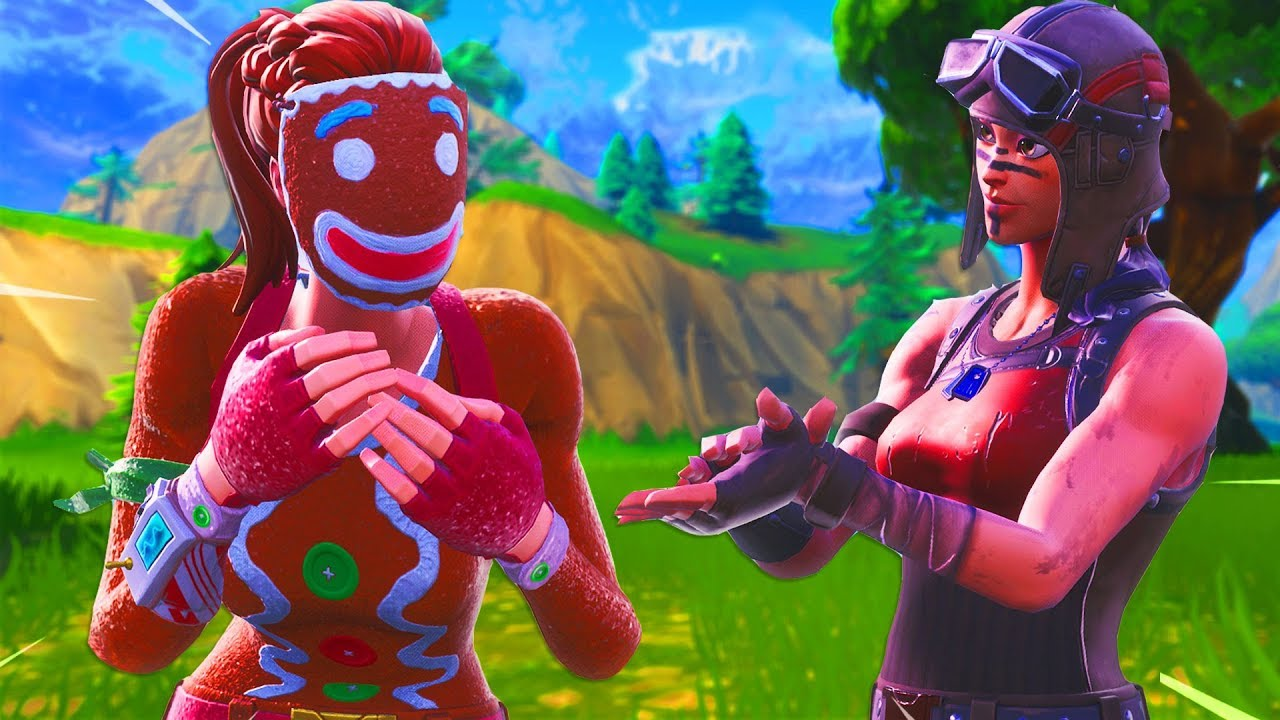 Renegade Raider Thumbnail: I Tried Out For The RAREST RENEGADE RAIDER Fortnite Clan