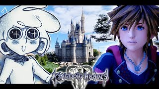 Disegnare a DISNEYWORLD grazie a Kingdom Hearts III - RichardHTT thumbnail
