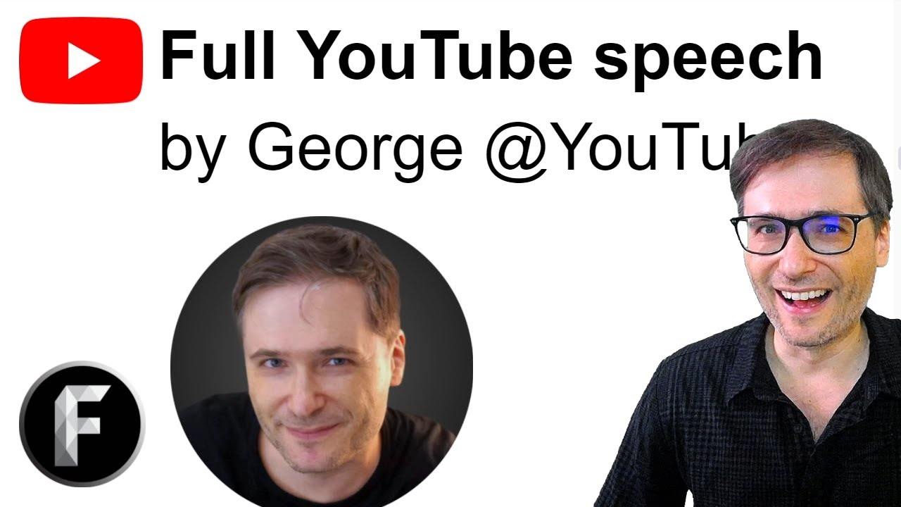 Full YouTube speech by George at YouTube Enterprise Summit 2020