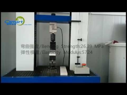E-Smart Magnesium Mineral Board Testing Machine Test Video