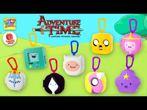 2017 Adventure Time McDonald's Happy Meal Complete Set of Toys streaming vf