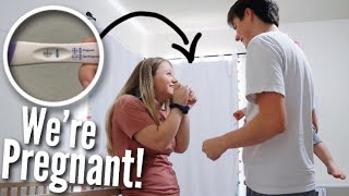 Telling My Husband I'm Pregnant Again | Teen Mom of 2