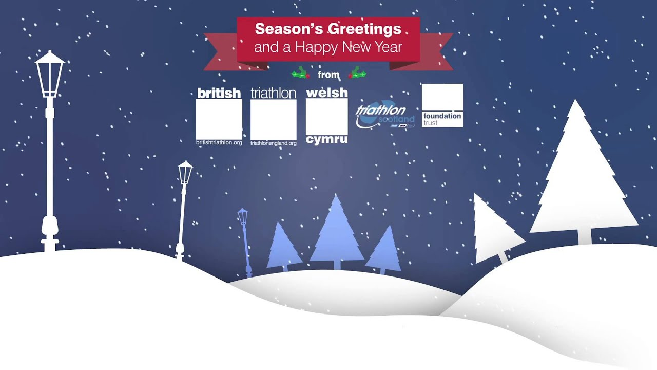 Seasons Greetings And A Happy New Year Youtube