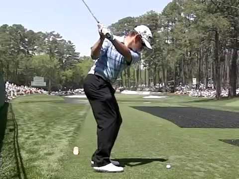 Louis Oosthuizen Super Slow Motion Golf Swing
