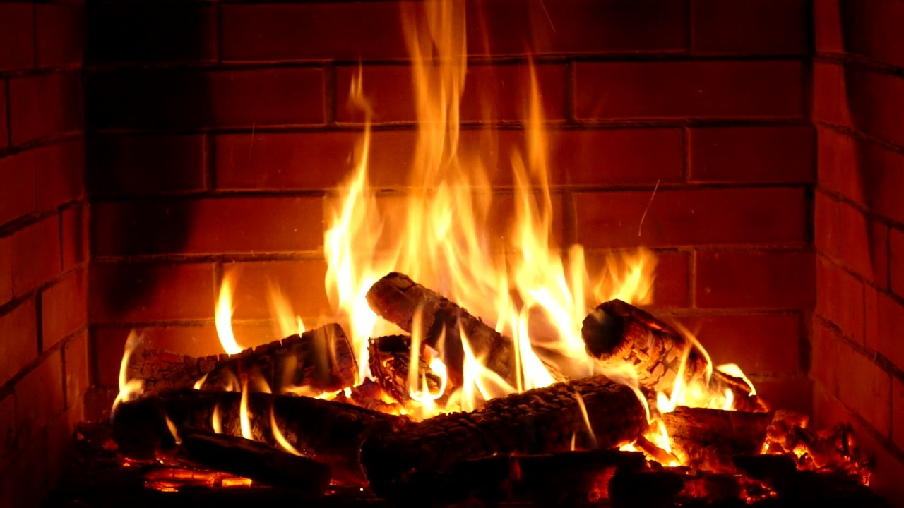 Fireplace 10 hours full HD - YouTube