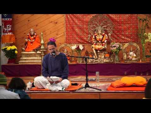 Adwaita Das - Patanjali's Raja Yoga Sutras 1-15 - Sivananda Yoga Farm Thanksgiving 2012