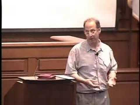 David Weinberger - Internet and Society 2007