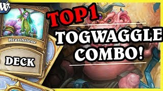 SIWIPI'S TOP1 KING TOGWAGGLE COMBO DRUID - Hearthstone Deck Wild (Witchwood)