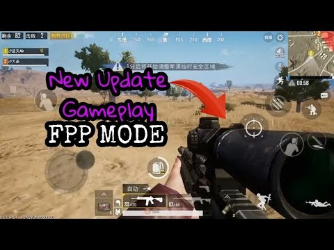 New Update FPP Mode | Pubg Mobile Fpp Mode Gameplay | Pubg Mobile 0.6 Version | Ghilie Suit