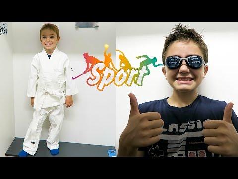 Vlog nouveaux sports pour swan et n o sport enfants for Swan et neo piscine