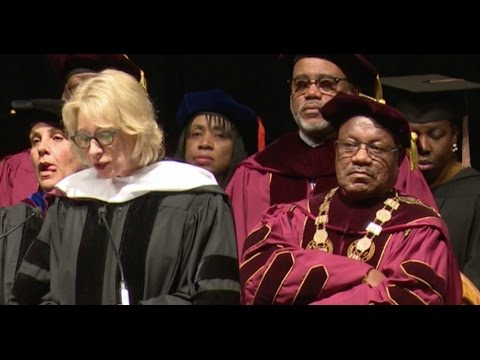 Betsy DeVos - Almost Booed Off stage at HBCU Graduation ceremony