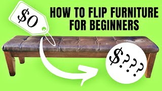 DIY Furniture Flip: How to Flip For a Profit For Beginners