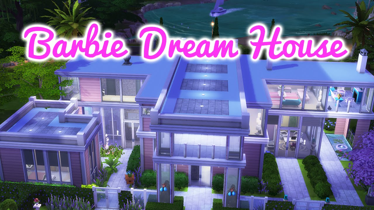 The Sims 4 Barbie Dreamhouse Renovation YouTube