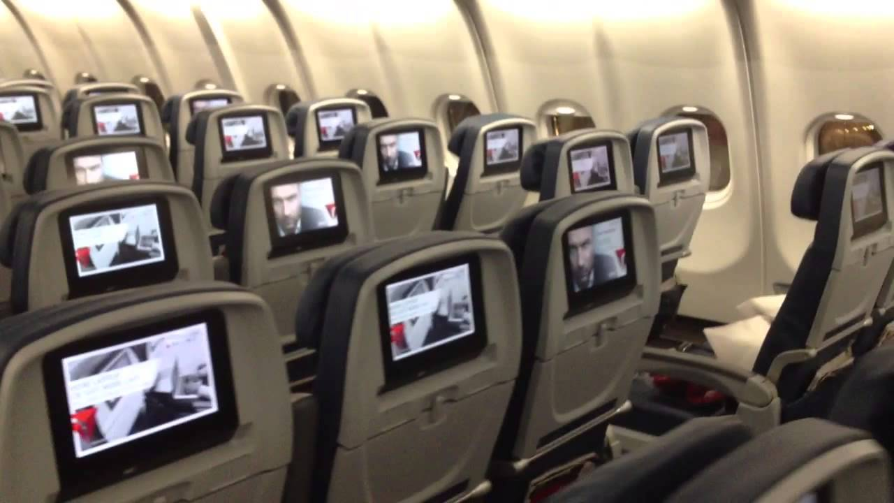 Delta Airlines Airbus A330-200 walkthrough New Interior - YouTube