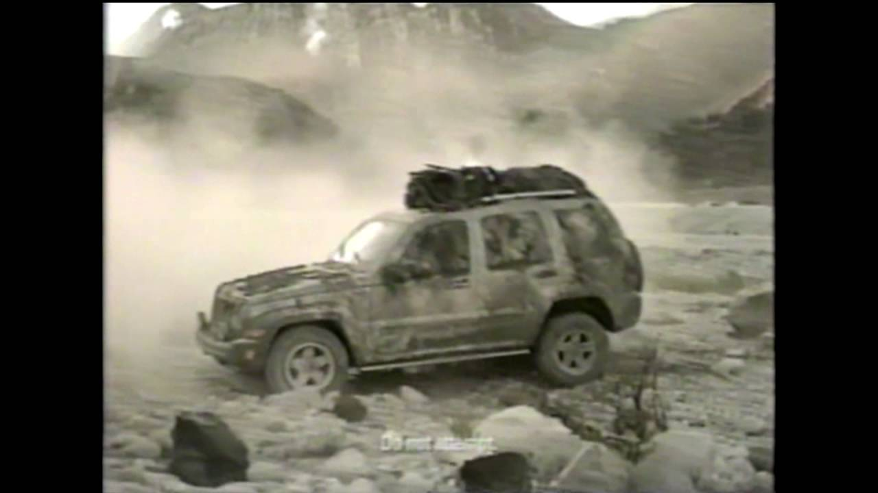 Jeep Liberty Renegade Commercial - 2004 - YouTube