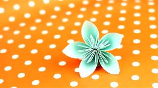 Cómo hacer preciosas flores de origami| facilisimo.com