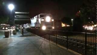 Railfanning Eastbound Metrolink Baldwin Park At The Evening