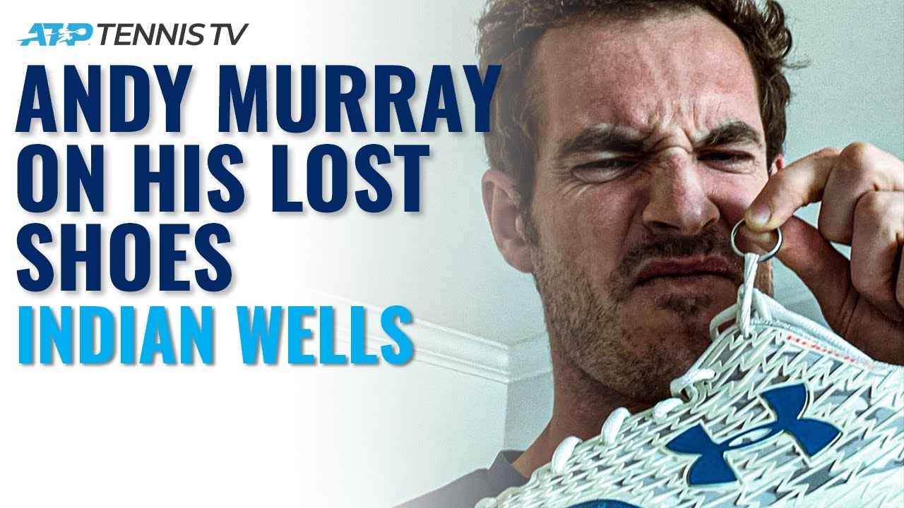 The Story Behind Andy Murray's Lost Tennis Shoes & Wedding Ring 👀 | Indian Wells 2021