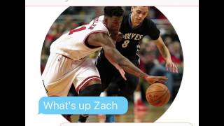 Jimmy Butler texts Zach Lavine after They Got Traded