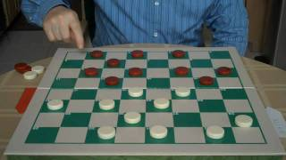 DEFEND BY ATTACKING IN A CHECKER GAME