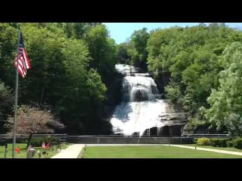 Finger Lakes region of NY waterfall