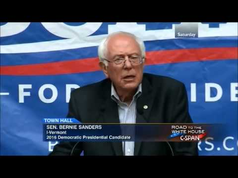 Bernie Sanders on Why We Need a Political Revolution