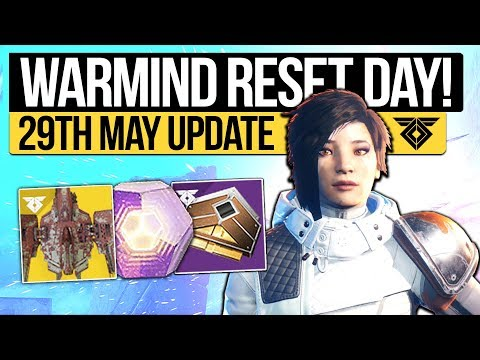 Destiny 2 News | WEEKLY RESET & PATCH NOTES! Exotic Buffs, Quest, Nightfall & Eververse (29th May)