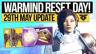 Destiny 2 News   WEEKLY RESET & PATCH NOTES! Exotic Buffs, Quest, Nightfall & Eververse (29th May)