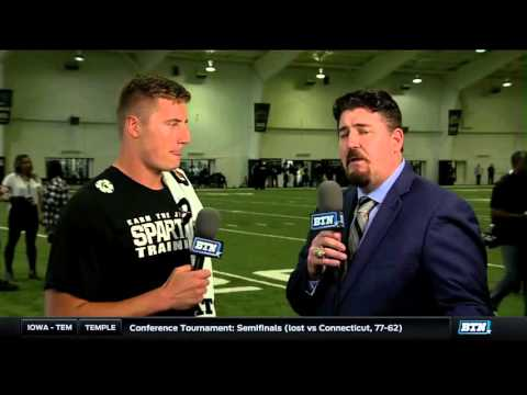 Connor Cook - MSU Pro Day Interview