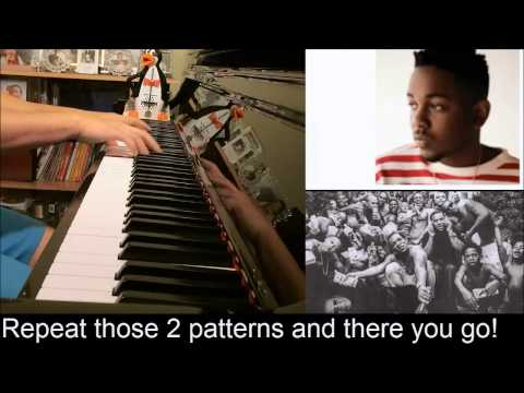 Kendrick Lamar - These Walls (Advanced Piano Cover with Chords)