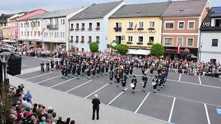 Showprogramm des MV Bad Leonfelden beim Bezirksmusikfest am