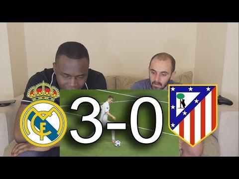 Real Madrid vs Atletico Madrid 3-0 All Goals Full Highlights: Barcelona Fan Reaction