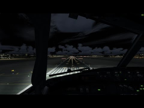 [P3D V3] PMDG 737-800 Dubai - Aborted landing and second landing