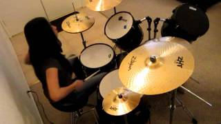 "Drum cover of ""Rocket Queen"" (I"