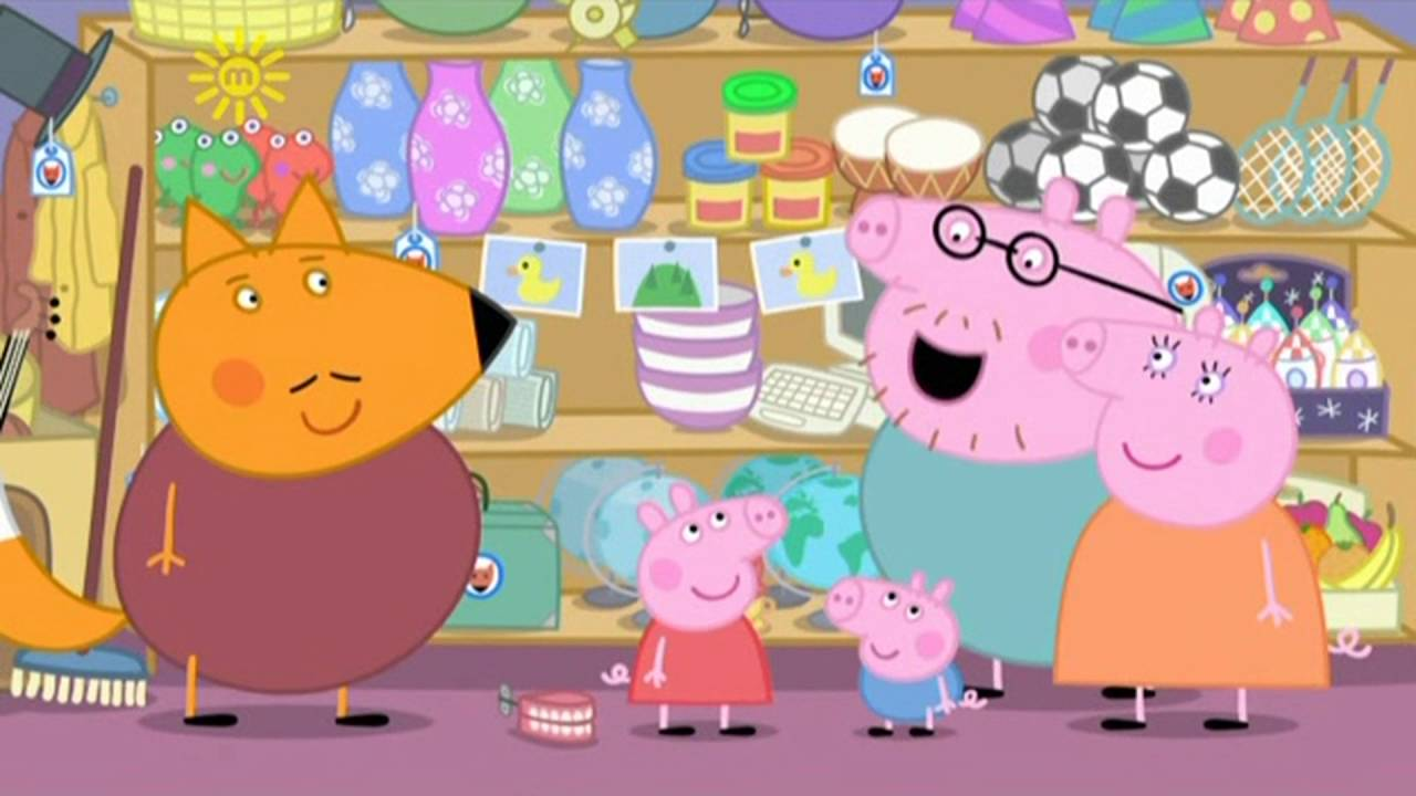 Peppa Pig - Mr. Fox's Shop (6 episode / 4 season) [HD]