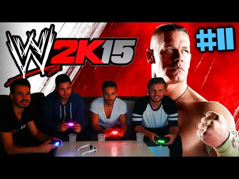 WWE 2K15 : Let's Play #11 [FACECAM] - MONEY IN THE BANK MIT FREUNDEN !! HD