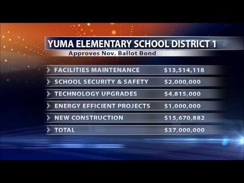YUMA ELEMENTARY SCHOOL DISTRICT 1 BOND ELECTION