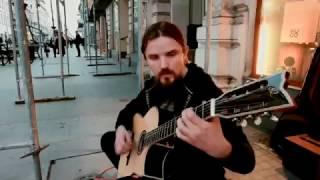 Mariusz Goli - High Noon (Mariusz Goli) LIVE busking Łódź