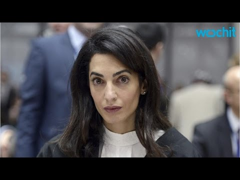 Amal Clooney Responds Perfectly When Asked About Her Fashion Choices While Representing Armenia in H