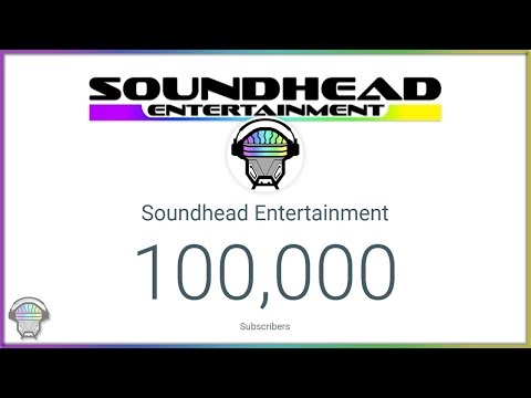 Soundhead Entertainment: 100,000 Strong!