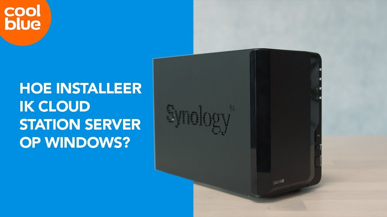 How do I set up Synology Cloud Station? - Coolblue - Before