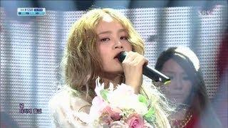 Скачать LEE HI 39 ROSE Feat CL 39 0414 SBS Inkigayo