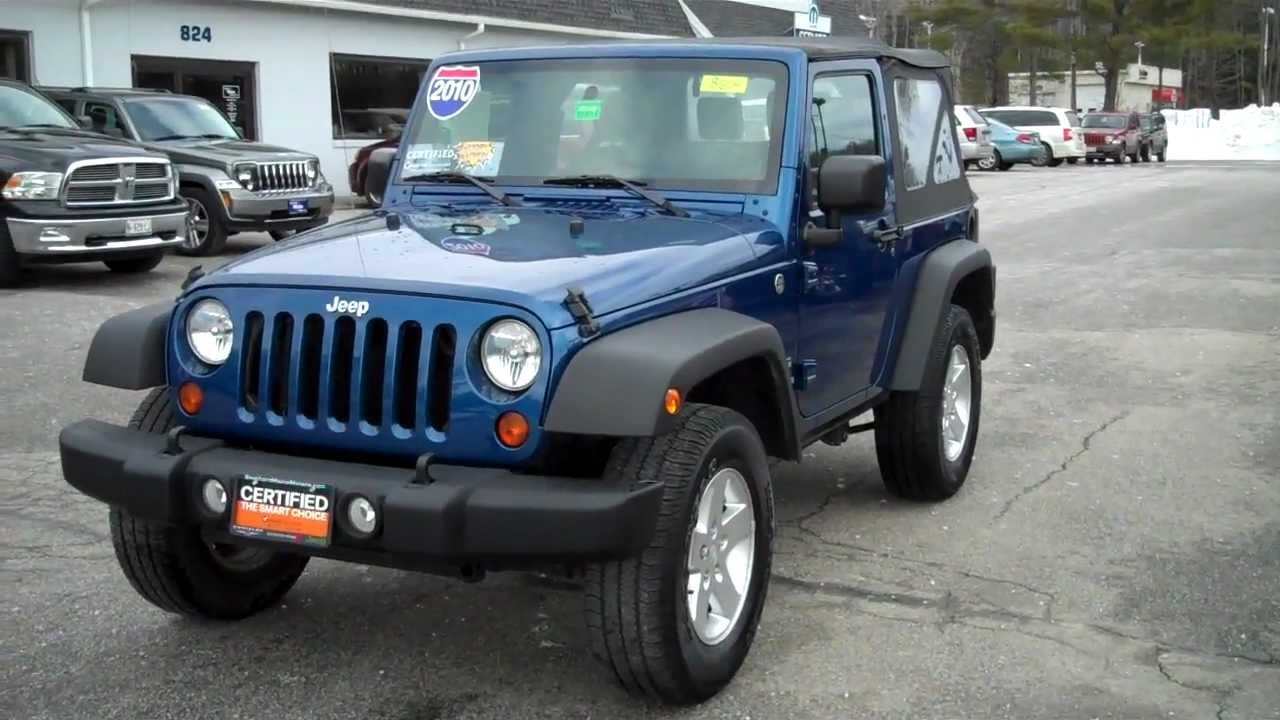 Great Best Priced Used 2010 Jeep Wrangler Sport Southern Maine Motors Saco Maine  Boston   YouTube