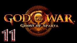God of War: Ghost of Sparta прохождение на геймпаде PSP версия часть 11 Сплошное месиво на судне