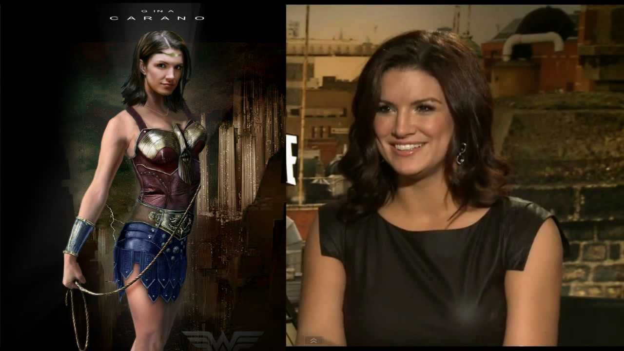 Gina Carano is WONDER WOMAN - YouTube