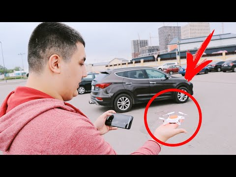 Квадрокоптер Xiaomi MITU RC Drone  - Меньше некуда?  🤔 🚁