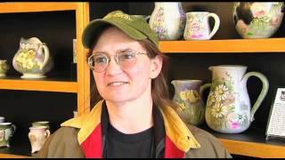 Artists visit a unique art studio in Northwest Arkansas, and perfor...