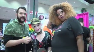 Richie Rich from Rupaul's DragCon 2016 on Hey Qween Live | Hey Qween